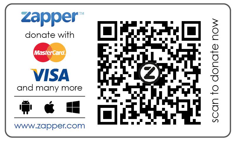 cityhope zapper QR code
