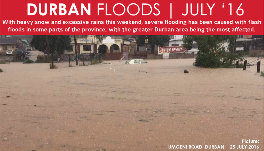 Durban Flood Victims